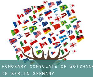 Honorary Consulate of Botswana in Berlin, Germany